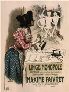 Vintage poster Advertising Linge Monopole Anti-Whitening Product